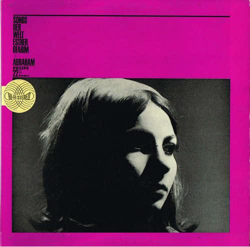 Cover Esther Ofarim + Abraham* - Songs Der Welt (LP, Album) Schallplatten Ankauf