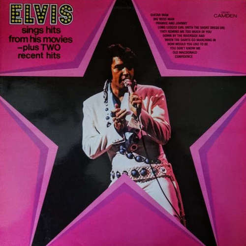 Cover Elvis Presley - Sings Hits From His Movies (LP, Comp) Schallplatten Ankauf