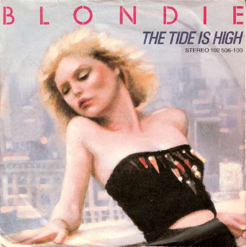 Cover Blondie - The Tide Is High (7, Single) Schallplatten Ankauf