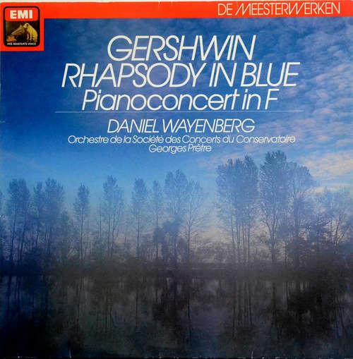 Bild Gershwin*, Daniel Wayenberg, Orchestre De La Societé Des Concerts Du Conservatoire* - Rhapsody In Blue - Pianoconcert In F (LP) Schallplatten Ankauf