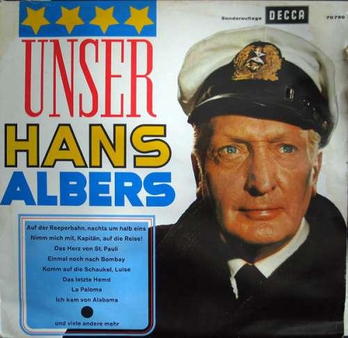 Bild Hans Albers - Unser Hans Albers (LP, Comp, Mono) Schallplatten Ankauf