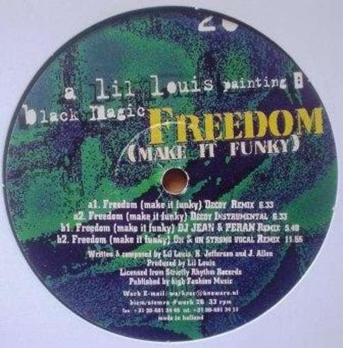 Cover Black Magic - Freedom (Make It Funky) (12) Schallplatten Ankauf
