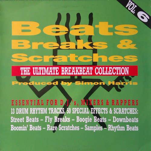 Cover Simon Harris - Beats, Breaks & Scratches Volume 6 (LP) Schallplatten Ankauf