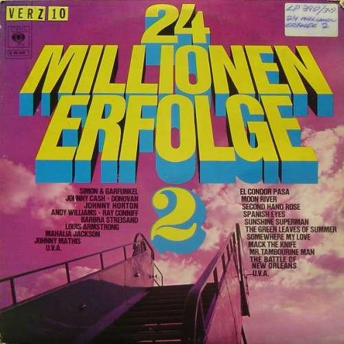 Cover zu Various - 24 Millionen Erfolge 2 (2xLP, Comp) Schallplatten Ankauf