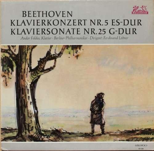 Bild Beethoven*, Andor Foldes, Berliner Philharmoniker, Ferdinand Leitner - Klavierkonzert Nr. 5 Es-Dur, Klaviersonate Nr. 25 G-Dur (LP) Schallplatten Ankauf