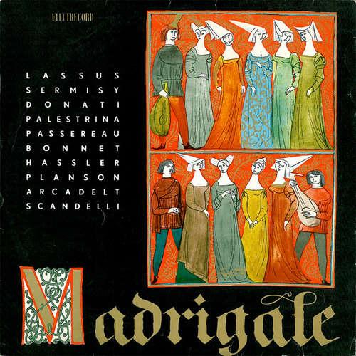 Cover zu Corul «Madrigal» Al Conservatorului «Ciprian Porumbescu»* , Dirijor : Marin Constantin - Madrigale (10, Mono, RE) Schallplatten Ankauf