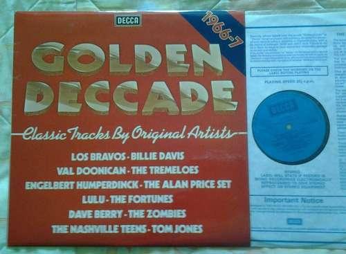 Cover zu Various - Golden  Deccade 1966-67 (LP, Comp) Schallplatten Ankauf