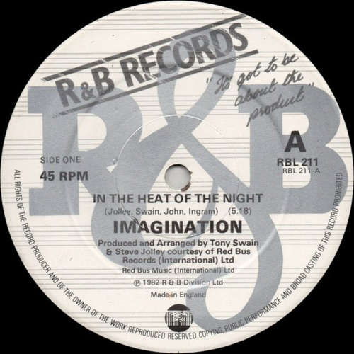 Bild Imagination - In The Heat Of The Night (12) Schallplatten Ankauf