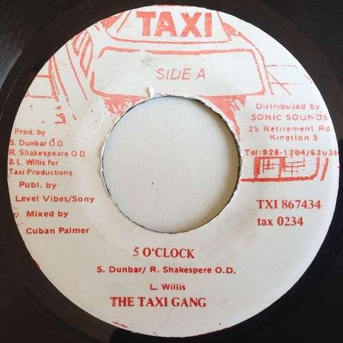Bild The Taxi Gang - 5 O'Clock (7) Schallplatten Ankauf