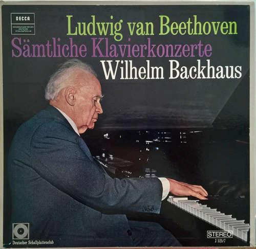 Bild Ludwig van Beethoven, Wilhelm Backhaus - Sämtliche Klavierkonzerte (3xLP + Box, Comp, Club) Schallplatten Ankauf