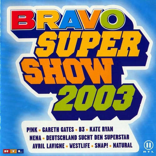 Cover Various - Bravo Supershow 2003 (2xCD, Comp) Schallplatten Ankauf
