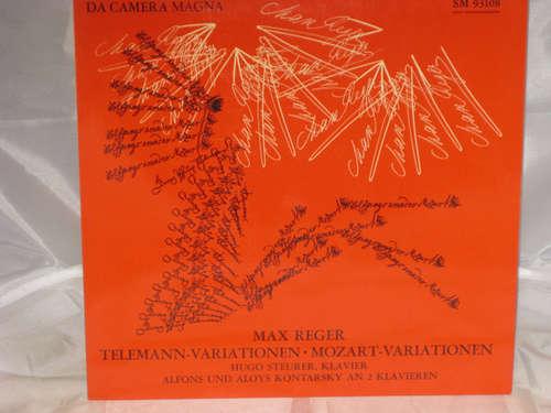 Bild Max Reger - Hugo Steurer, Alfons Und Aloys Kontarsky* - Telemann-Variationen / Mozart-Variationen (LP) Schallplatten Ankauf