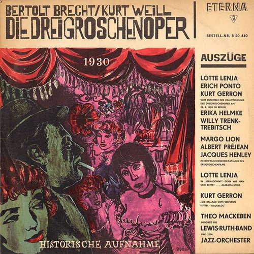 Bild Bertolt Brecht / Kurt Weill - Die Dreigroschenoper (Auszüge) (LP, Comp, Mono) Schallplatten Ankauf
