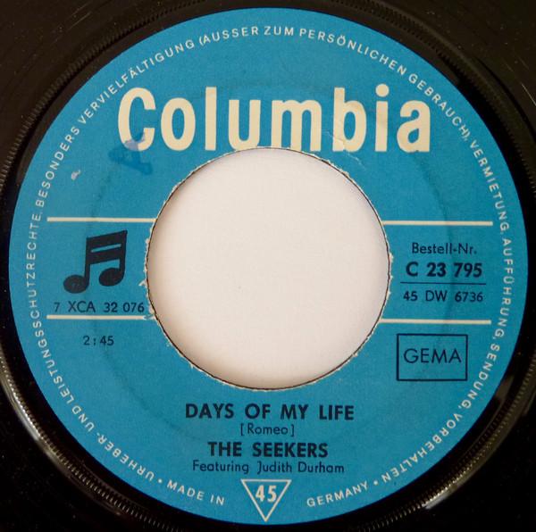 Bild The Seekers - Days Of My Life (7, Single) Schallplatten Ankauf