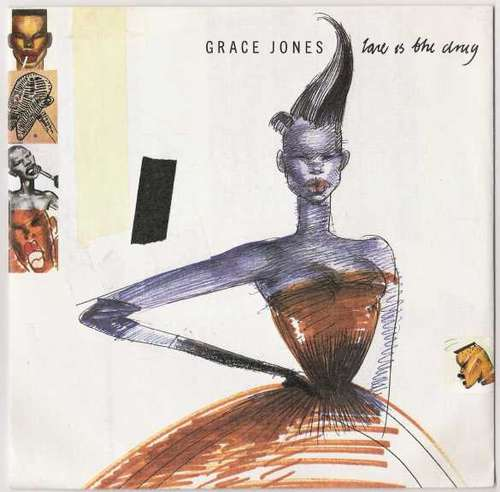 Bild Grace Jones - Love Is The Drug (7, Single) Schallplatten Ankauf