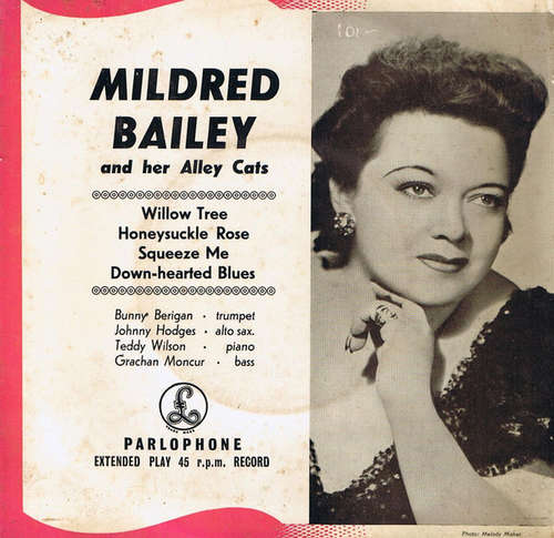 Bild Mildred Bailey And Her Alley Cats - Mildred Bailey And Her Alley Cats (7, EP) Schallplatten Ankauf