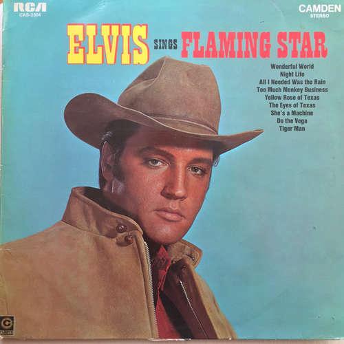 Cover Elvis Presley - Elvis Sings Flaming Star (LP, Comp, RE) Schallplatten Ankauf