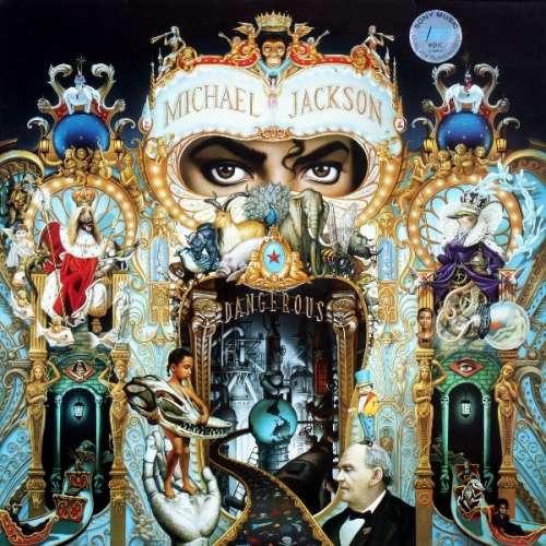 Cover Michael Jackson - Dangerous (2xLP, Album) Schallplatten Ankauf