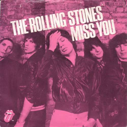 Cover The Rolling Stones - Miss You (7, Single) Schallplatten Ankauf