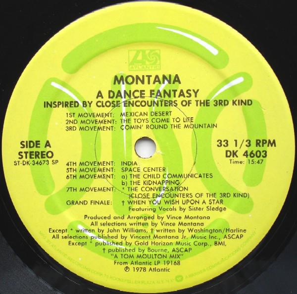 Bild Montana - A Dance Fantasy / Warp Factor II (12) Schallplatten Ankauf