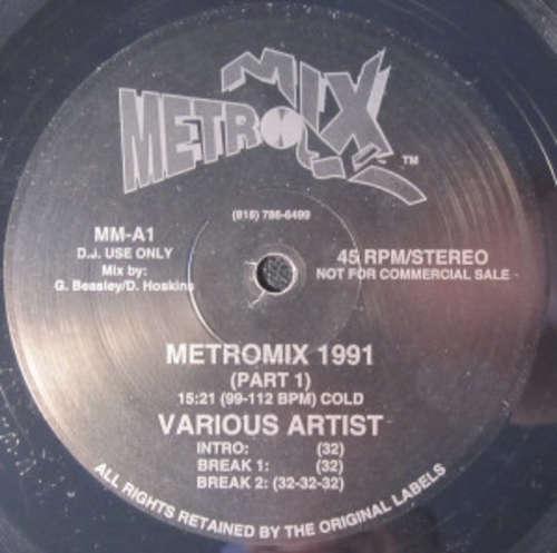 Cover Various - Metromix 1991 (12, Mixed) Schallplatten Ankauf