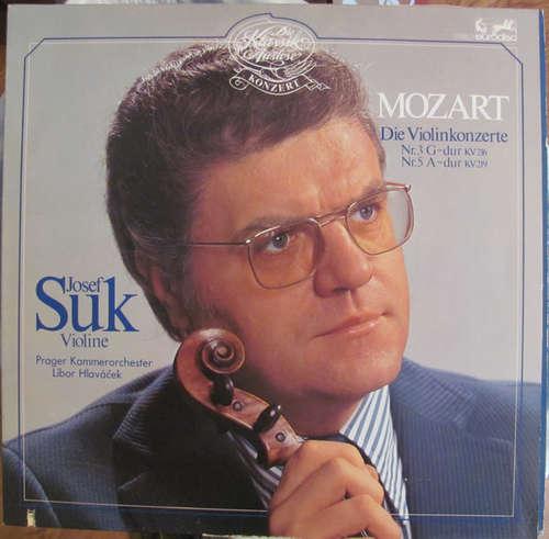 Bild Josef Suk, Libor Hlaváček, Prager Kammerorchester* - Mozart Die Violinkonzere (LP) Schallplatten Ankauf