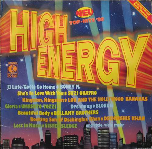 Cover Various - High Energy (LP, Comp) Schallplatten Ankauf
