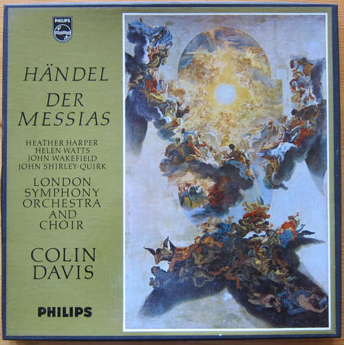 Bild Händel* - Colin Davis* - The London Symphony Orchestra - London Symphony Choir* - Heather Harper - Helen Watts - John Wakefield - John Shirley-Quirk - Der Messias (3xLP + Box, Mono) Schallplatten Ankauf