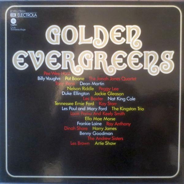 Cover Various - Golden Evergreens (3xLP, Comp, Club + Box) Schallplatten Ankauf