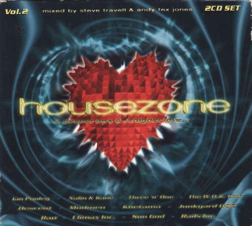 Cover Steve Travell & Andy Tex Jones - Housezone Vol.2 - A Deeper Love - A Higher Love (2xCD, Mixed) Schallplatten Ankauf