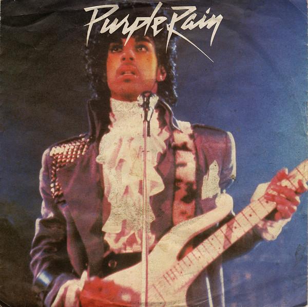 Cover Prince And The Revolution - Purple Rain (7, Single) Schallplatten Ankauf