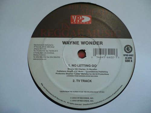 Cover Wayne Wonder - No Letting Go (12) Schallplatten Ankauf