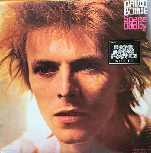 Cover David Bowie - Space Oddity = Odisea Espacial (LP, Album, RE) Schallplatten Ankauf