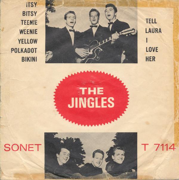 Cover The Jingles (2) - Itsy bitsy teenie weenie yellow polkadot bikini (7, Single) Schallplatten Ankauf