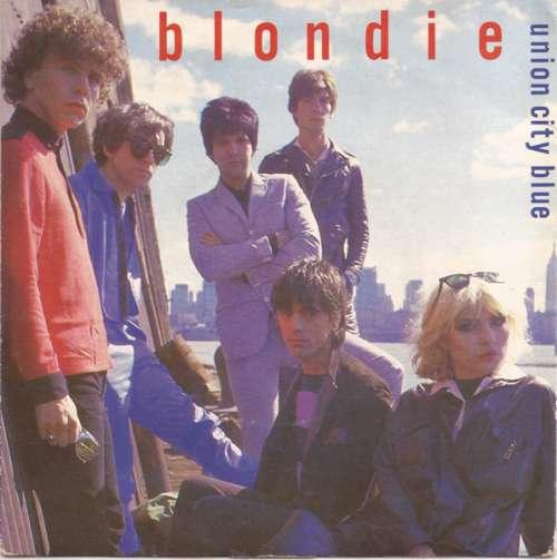 Cover zu Blondie - Union City Blue (7, Single, Sil) Schallplatten Ankauf