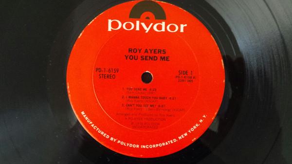 Cover Roy Ayers - You Send Me (LP, Album) Schallplatten Ankauf