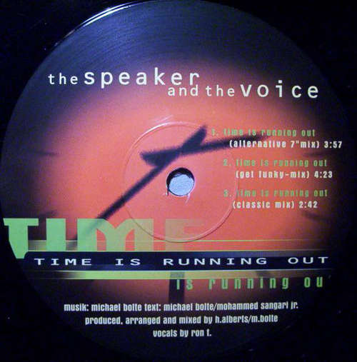 Cover The Speaker And The Voice - Time Is Running Out (12) Schallplatten Ankauf