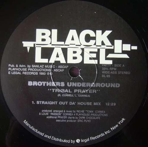 Bild Brothers Underground - Tribal Prayer / Make It Rite (12) Schallplatten Ankauf