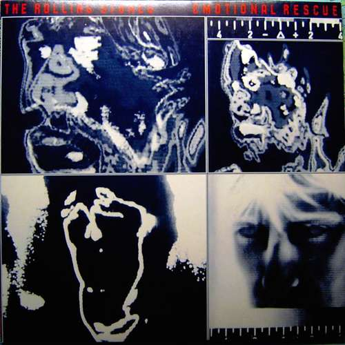 Cover The Rolling Stones - Emotional Rescue (LP, Album) Schallplatten Ankauf