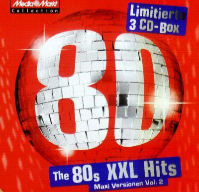 Cover Various - The 80s XXL Hits (Maxi-Versionen Vol. 2) (3xCD, Comp + Box, Ltd, Tin) Schallplatten Ankauf