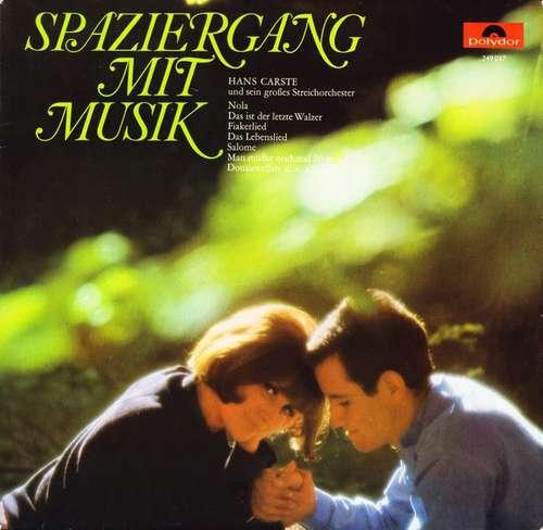 Bild Hans Carste Und Sein Großes Streichorchester* - Spaziergang Mit Musik (LP, Comp) Schallplatten Ankauf