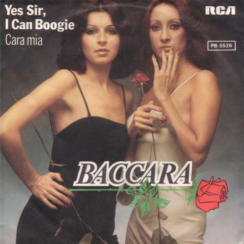 Cover Baccara - Yes Sir, I Can Boogie (7, Single) Schallplatten Ankauf