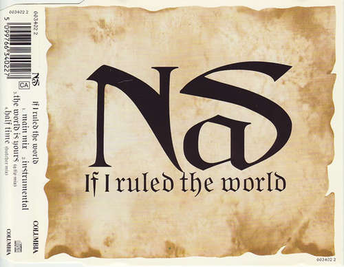 Cover Nas - If I Ruled The World (CD, Single) Schallplatten Ankauf