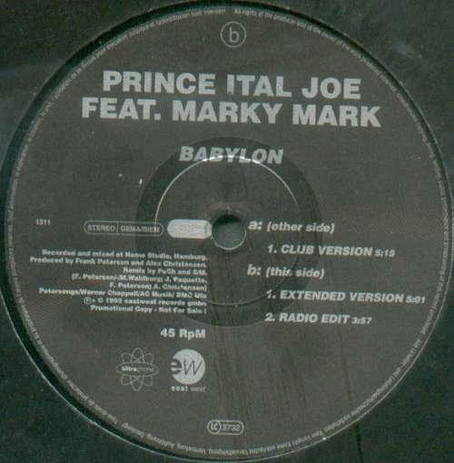 Cover zu Prince Ital Joe Feat. Marky Mark - Babylon (12, Promo, Maxi) Schallplatten Ankauf