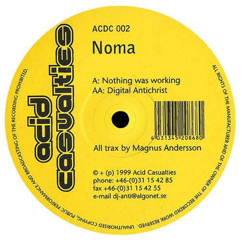 Cover Noma - Nothing Was Working / Digital Antichrist (12) Schallplatten Ankauf