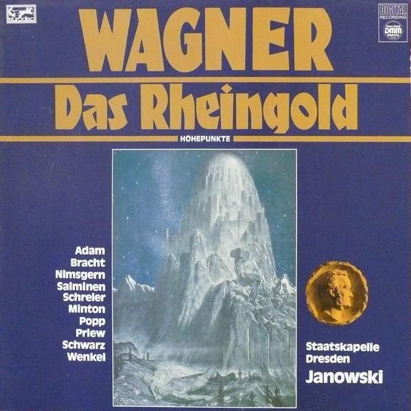 Cover zu Richard Wagner, Staatskapelle Dresden, Marek Janowski - Das Rheingold - Höhepunkte (LP, Comp) Schallplatten Ankauf