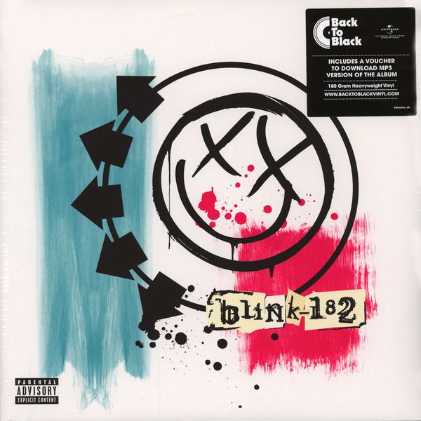 Cover Blink-182 - Blink-182 (LP + LP, S/Sided, Etch + Album, RE, 180) Schallplatten Ankauf