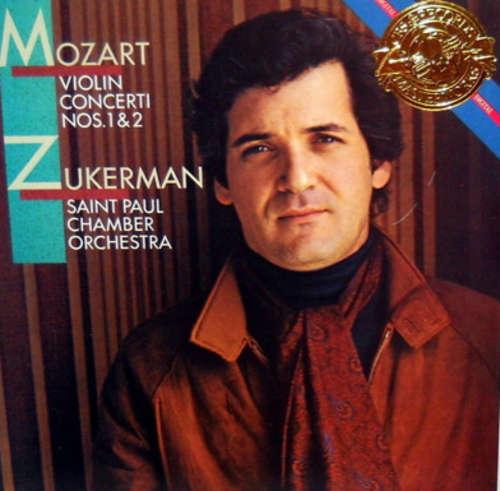 Bild Mozart* - Zukerman*, Saint Paul Chamber Orchestra* - Violin Concerti Nos. 1 & 2 (LP, Album) Schallplatten Ankauf