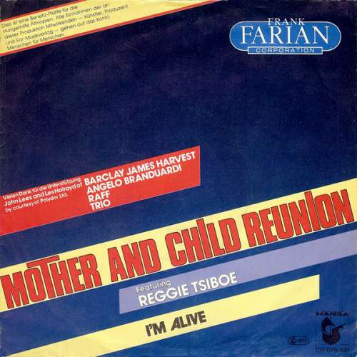 Bild Frank Farian Corporation - Mother And Child Reunion (7, Single) Schallplatten Ankauf