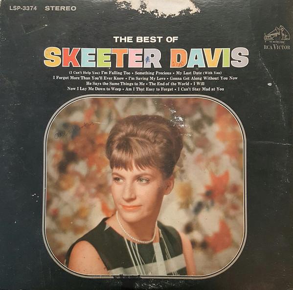 Cover zu Skeeter Davis - The Best Of Skeeter Davis (LP, Comp, Roc) Schallplatten Ankauf